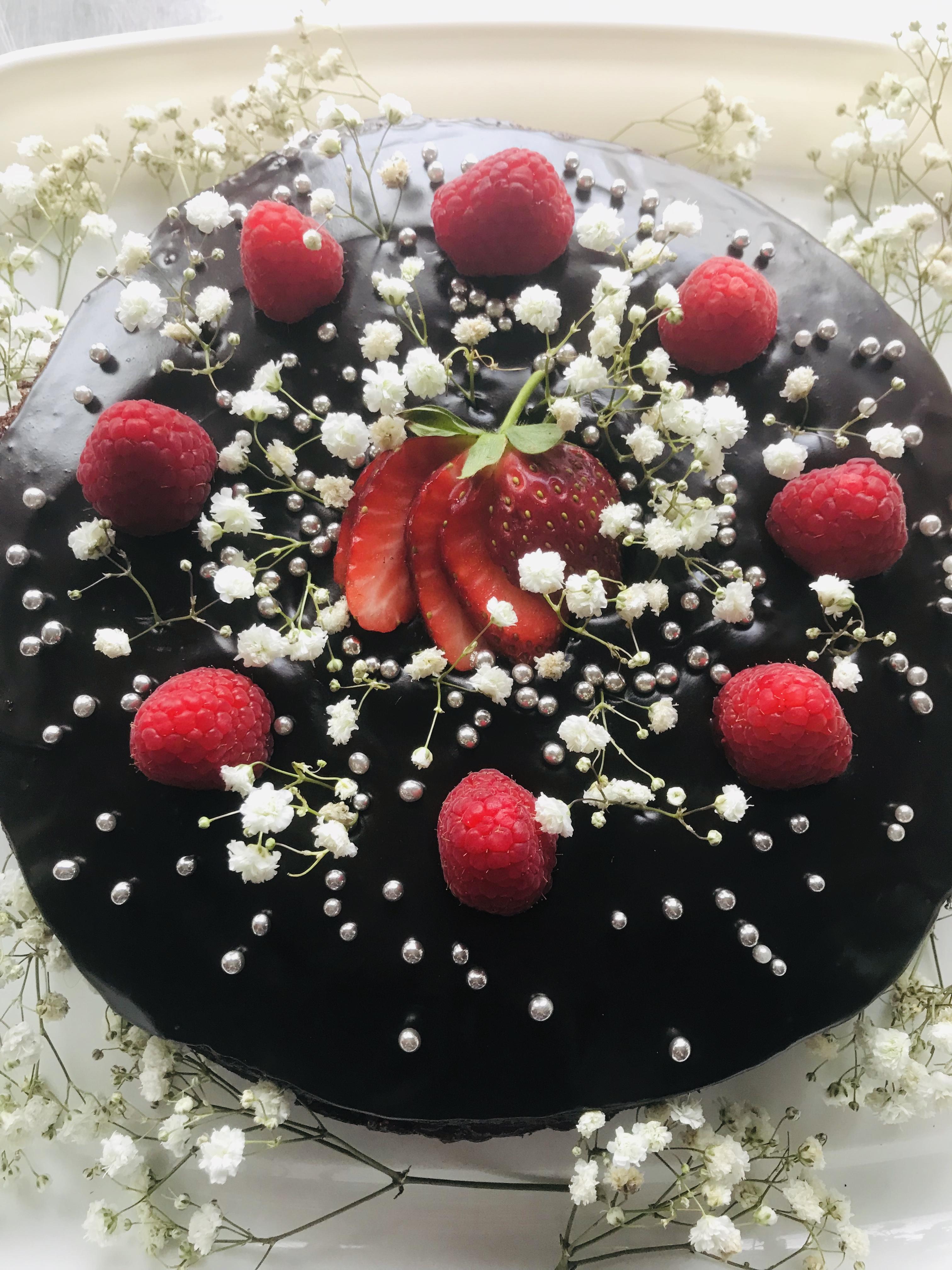 Carob Celebration Cake