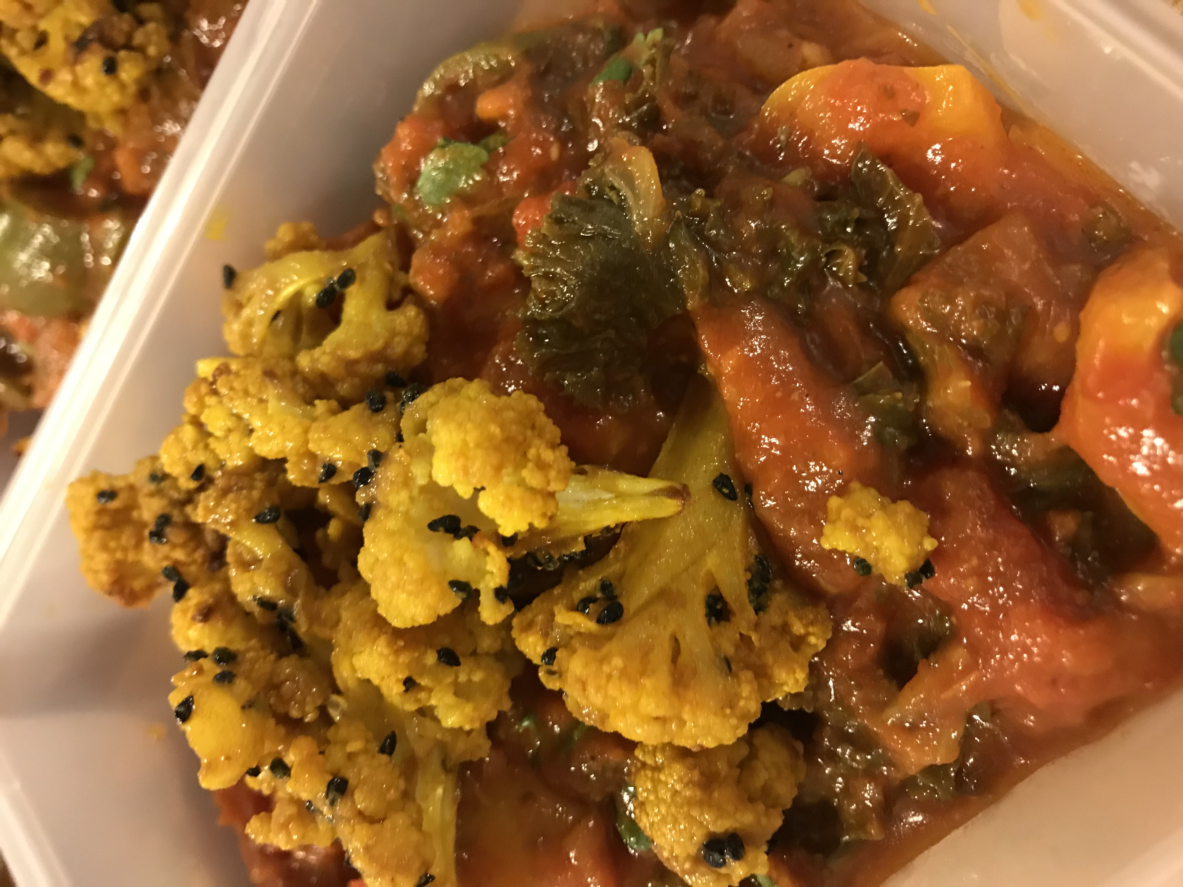 Balti with Roasted Cauli