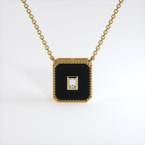 Collier Vendôme V Modèle M Or jaune Black