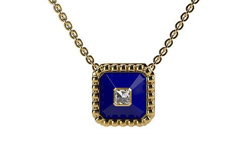 Collier Vendôme VII Modèle S Or jaune Blue