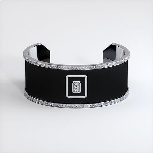 Bracelet Vendôme V Modèle M Or blanc Black