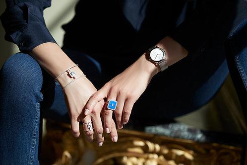 Bracelet Vendôme VI Modèle L Or blanc