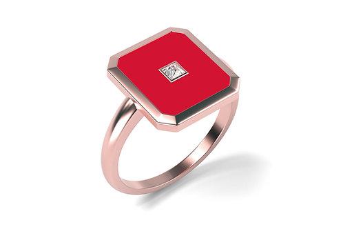 Bague Vendôme V Modèle S Or Rose RED