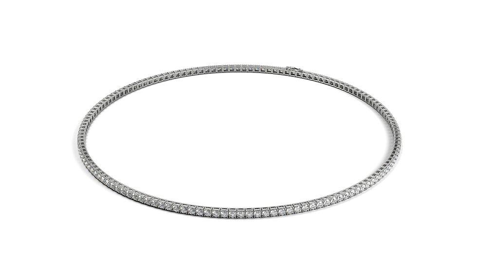 Bracelet Riviere Diamant 1,00 Carat