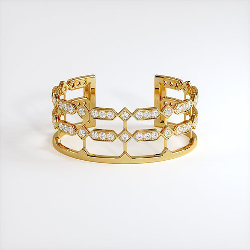 Bracelet Vendôme VIII Or Jaune
