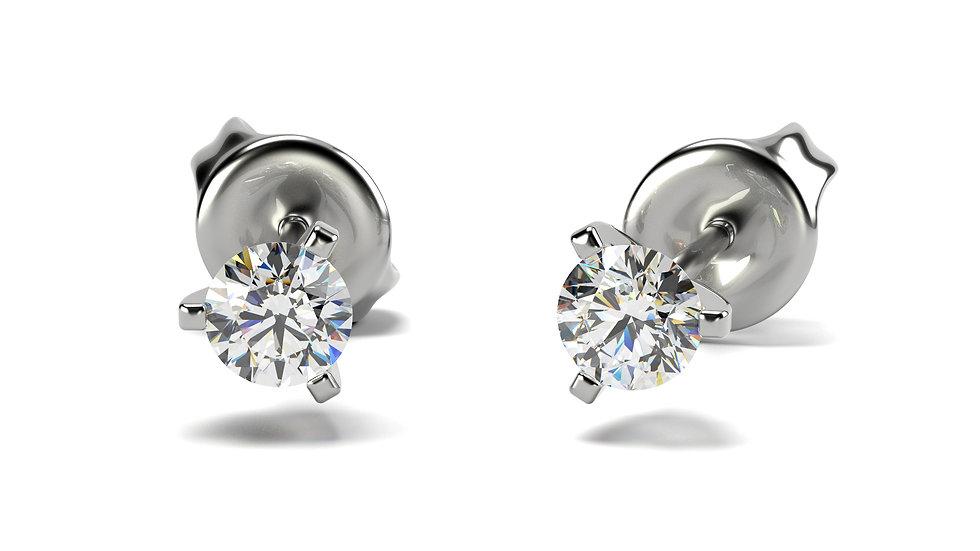 Boucles d'oreilles Sincerity 0,30 carat - Or 375/1000