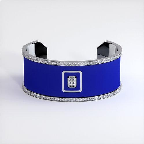 Bracelet Vendôme V Modèle M Or blanc Blue