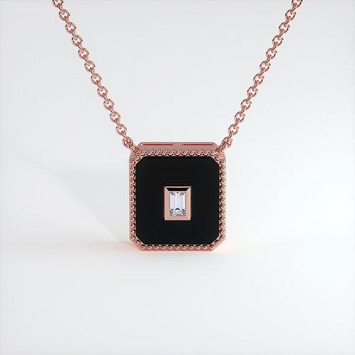 Collier Vendôme V Modèle M Or rose Black