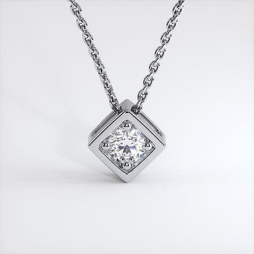 Collier Vendôme VIII Modèle S Or Blanc