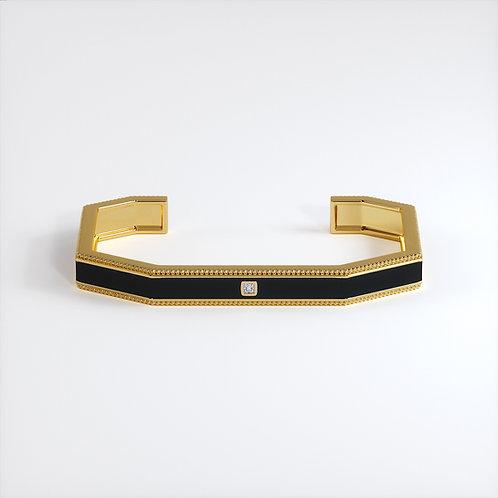 Bracelet Vendôme V Modèle S Or jaune Black