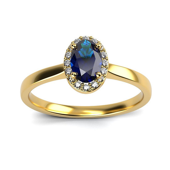 Bague IMPERIAL 0,07 carat Or Jaune 375/1000