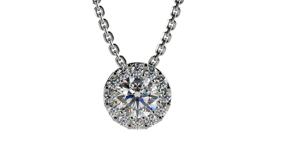 Collier Comtesse  0,17 carat - Or 375/1000
