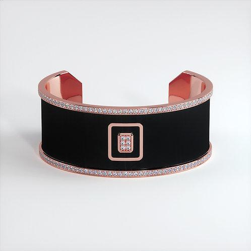 Bracelet Vendôme V Modèle M Or rose Black