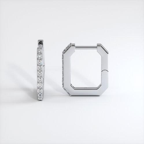 Boucle d'oreilles Vendôme VI S Or Blanc