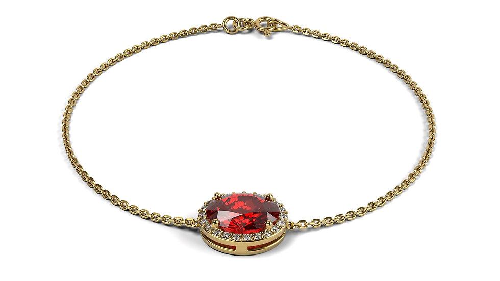 Bracelet IMPERIAL 0,67 carat Or Jaune 375/1000