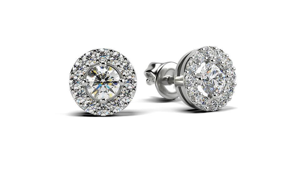 Boucles d'oreilles Comtesse  0,17 carat - Or 375/1000