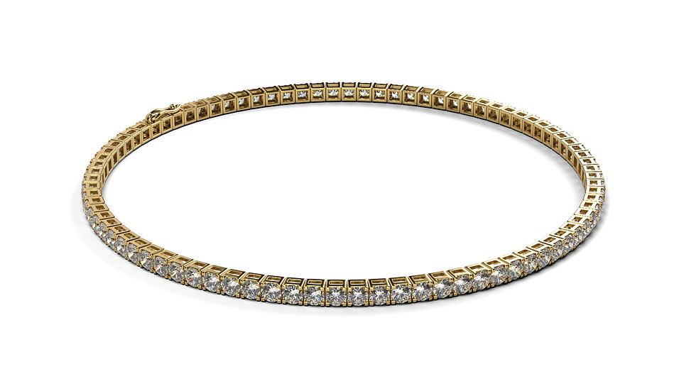 Bracelet Riviere Diamant 3,00 Carat