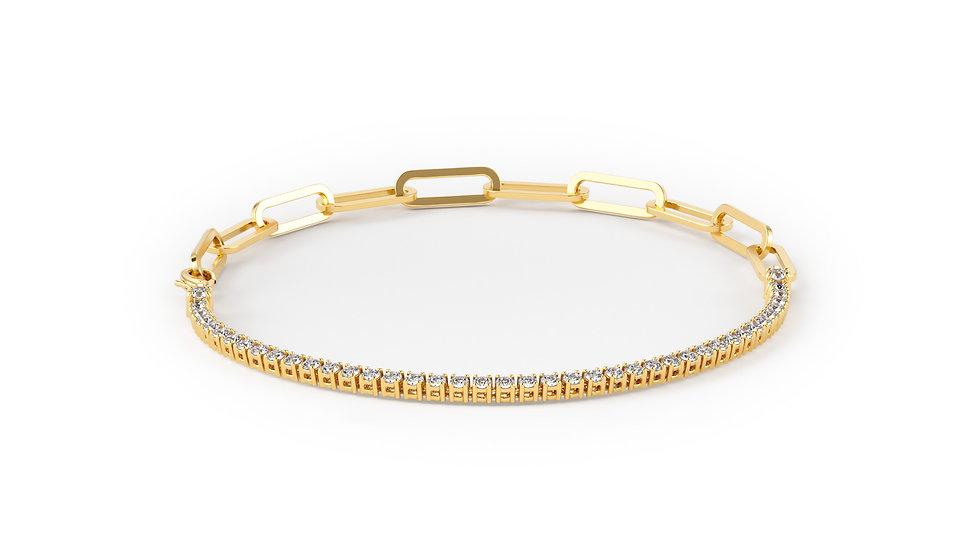 Bracelet EXALTÉE 1,32 Carat 375/1000