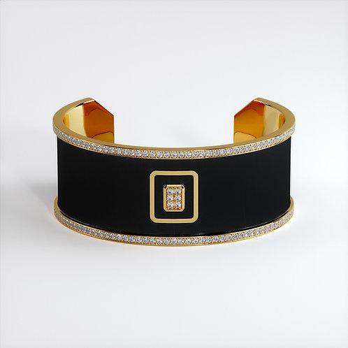 Bracelet Vendôme V Modèle M Or jaune Black