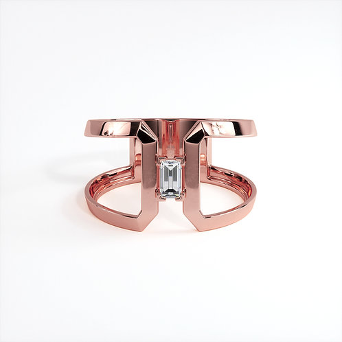 Bague Perception S Or Rose