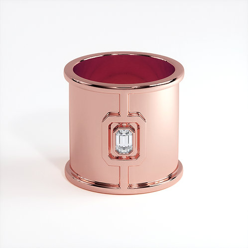 Bague Vendôme VI Modèle L Or rose