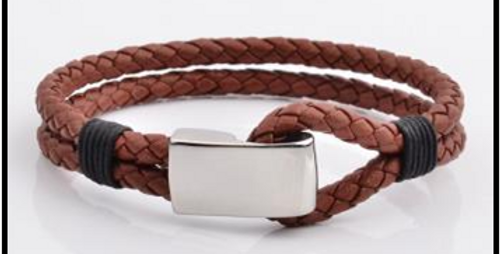 Bracelet pour Homme en Cuir