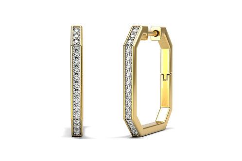 Boucles d'oreilles Vendôme VI Modèle M or jaune
