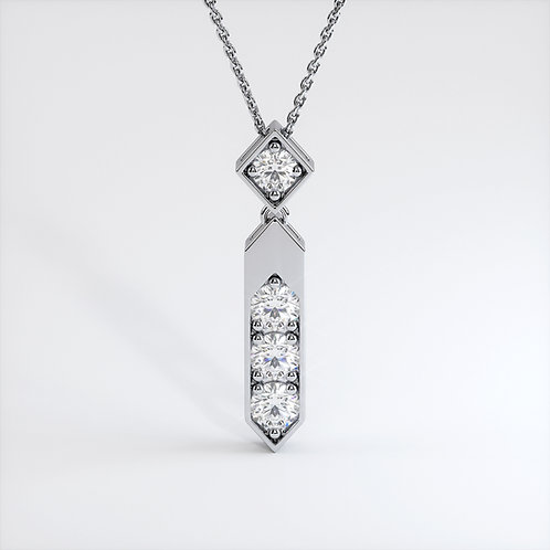 Collier Vendôme VIII Or Blanc