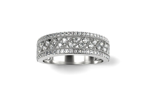 Bague JOIE Or Blanc