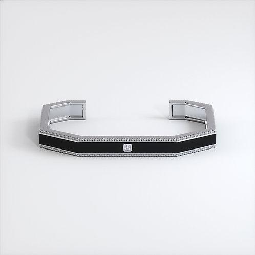 Bracelet Vendôme V Modèle S Or blanc Black