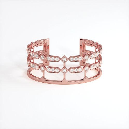 Bracelet Vendôme VIII Or Rose