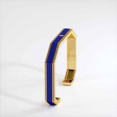 Bracelet Vendôme V Modèle S Or jaune Blue