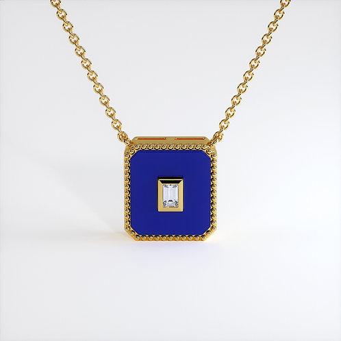 Collier Vendôme V Modèle M Or jaune Blue