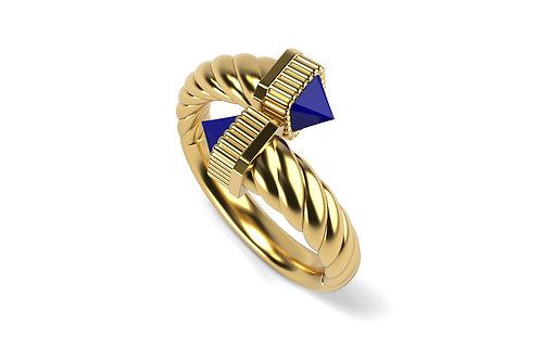 Bague Vendôme VII Modèle S Or jaune Blue