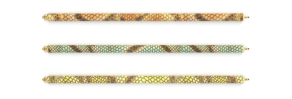 Crocodile Bracelet - Serie Savannah