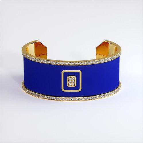 Bracelet Vendôme V Modèle M Or jaune Blue