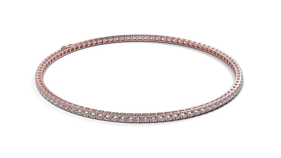 Bracelet Riviere Diamant 2,00 Carat