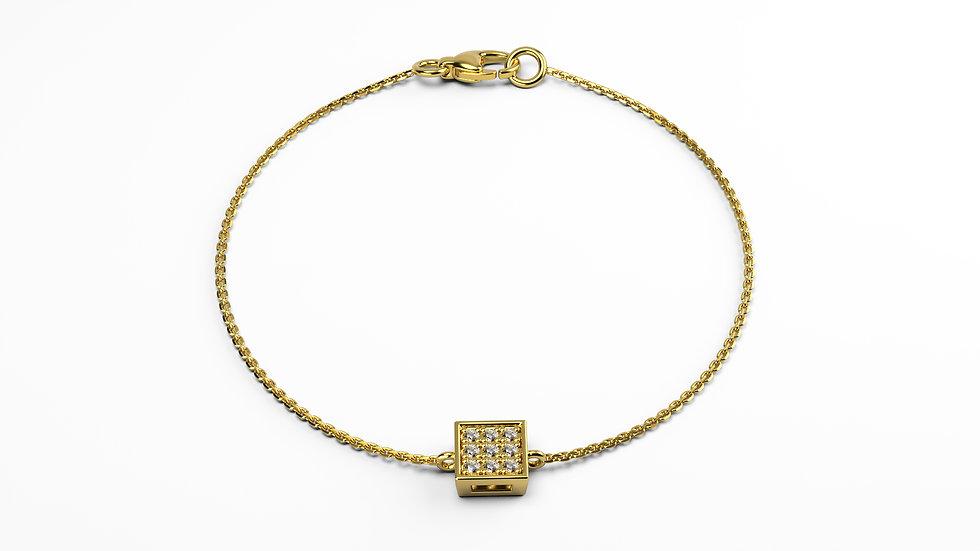 Bracelet Bonheur Or Jaune 9K