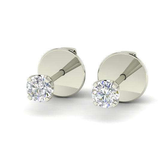 Boucles d'oreilles LUMIERE 0,12 carat - Or 375/1000
