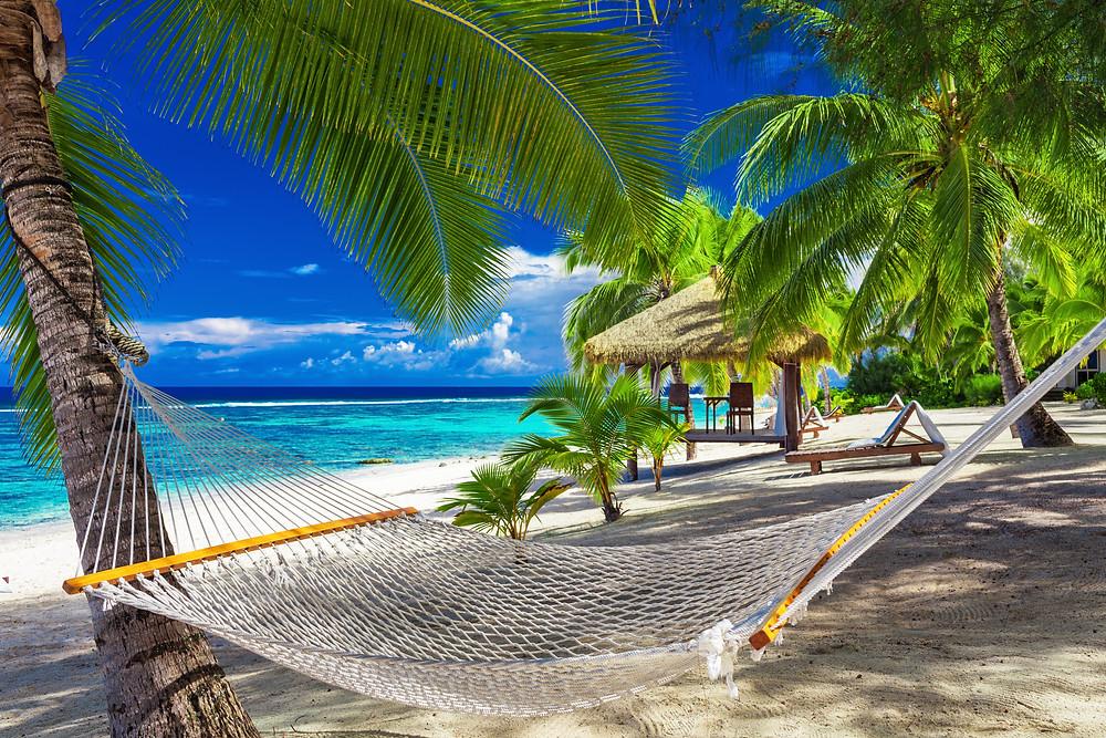 The main island of The Cook Islands group; Rarotonga.