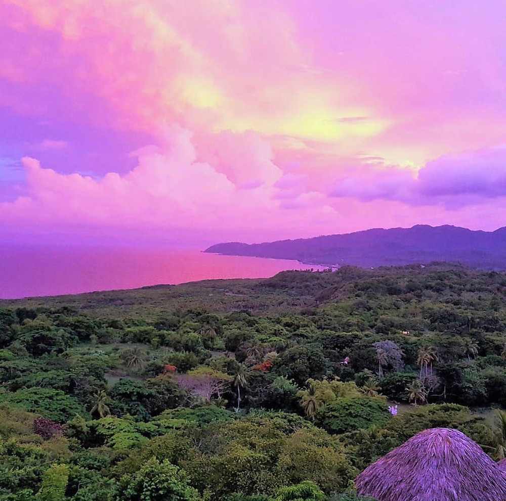 Dominican Republic Sunset over your retreat