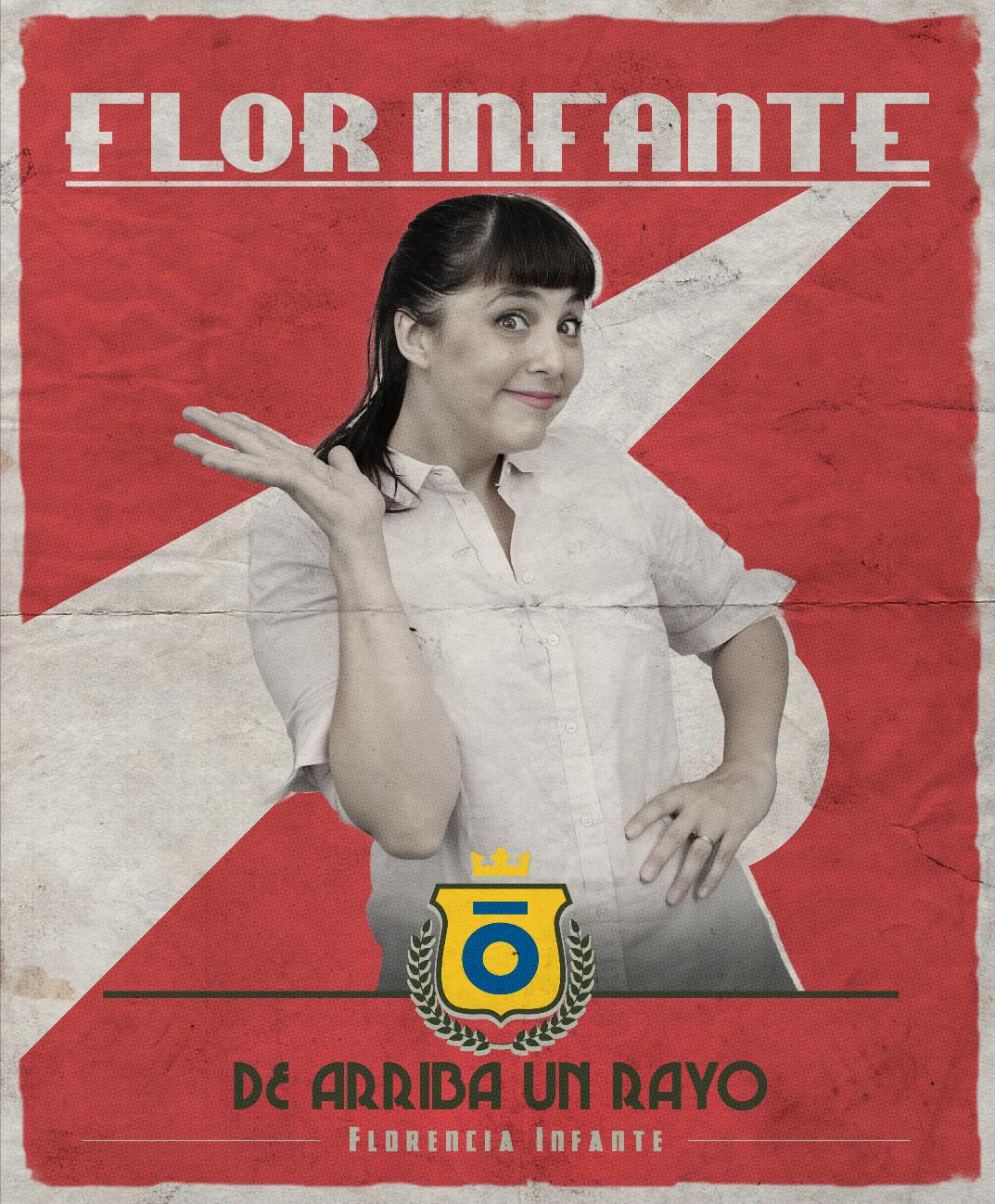 Afiche Flor Infante