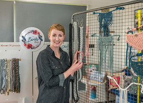 Meet the Maker: Erin King Owner, Creator, Designer and Maker of The Boho Pet.