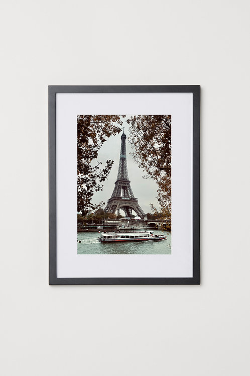 "Paris 12""X16"" Photo & Frame"