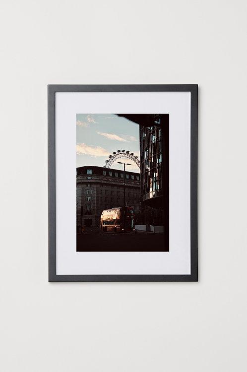 "London Eye 12""X16"" Photo & Frame"