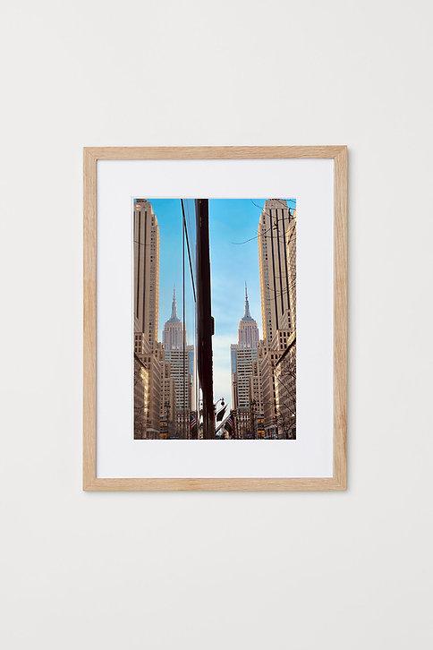 "Empire Reflection 12""X16"" Photo & Frame"