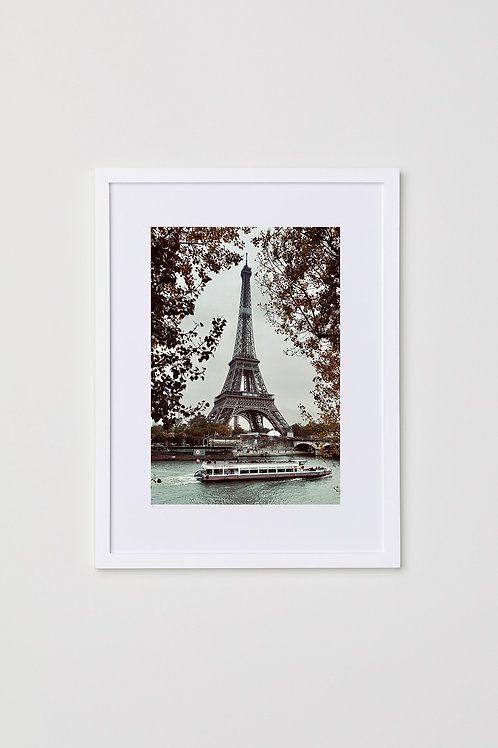 "Paris 12""X16"" Photo & Frame"