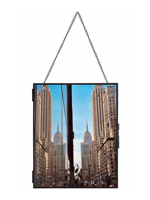 "Empire reflection metal Hang frame 10""x8"" Photo & Frames"