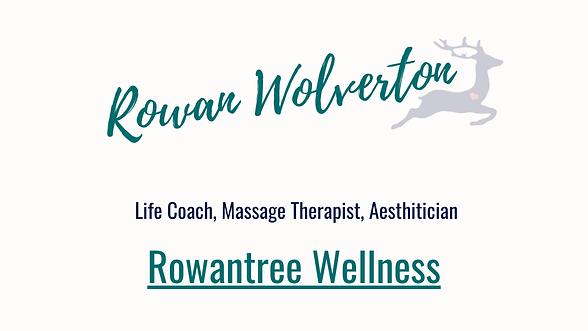Rowan Wolverton Massage Therapist Life C