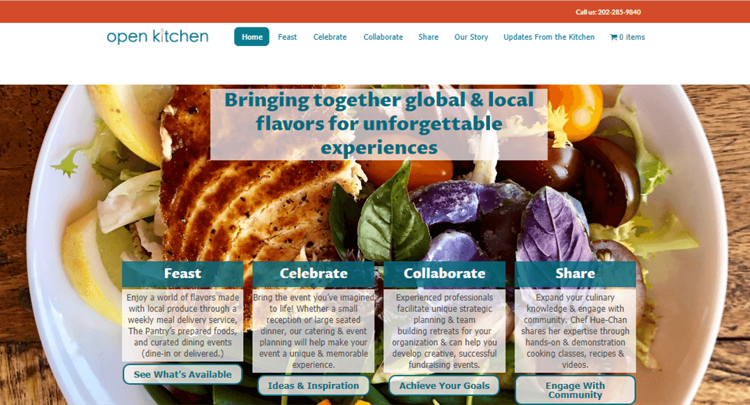 Catering (new website)